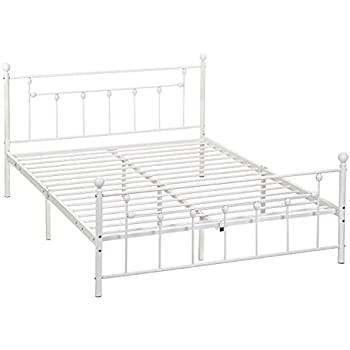 Amazon Com Bestmassage Duty Steel Slat Platform Bed