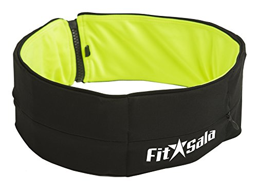fitsala-2-in-1-color-running-belt-waist-packs-with-zipper-easy-to-use-for-iphone-and-all-smartphones