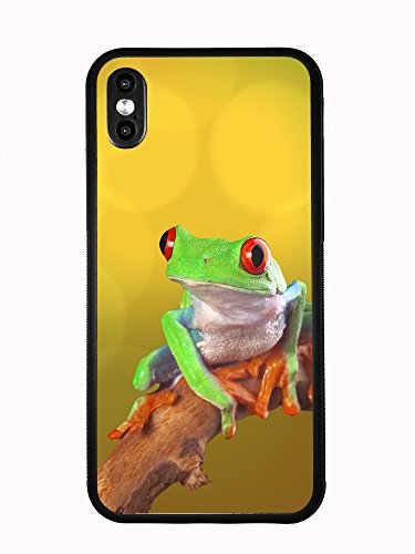 Colorful Tree Frog For Iphone X Anniversary Edition 2017 Case Cover by Atomic Market Anniversary Frog