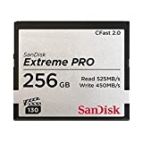 SanDisk 71931 256GB Extreme PRO CFast 2.0 Memory Card (ARRI, Canon, and BlackMagic Ca