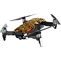 MightySkins Skin for DJI Mavic Air Drone - Mosaic Gold | Min Coverage Protective, Durable, and Unique Vinyl Decal wrap cover | Easy To Apply, Remove, and Change Styles | Made in the USA