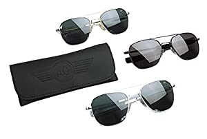 Geniune Issue Air Force Pilots 57mm Sunglasses AO