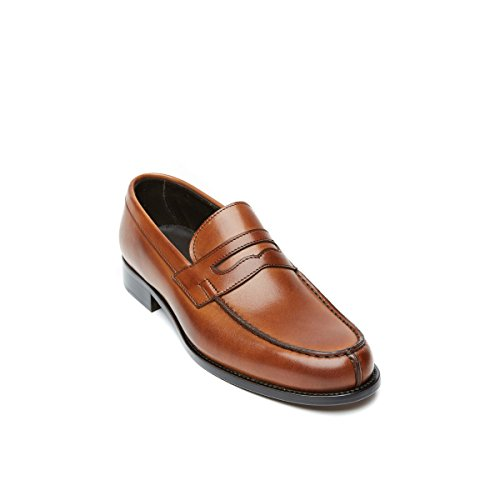 Moro Passport Loafer Flats British Dunkelbraun Loafer Herren Di 01ZnqwOH