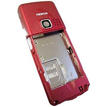 Nokia 6300/6300 I/6301 con tapa para smartphone Rojo carcasa ...