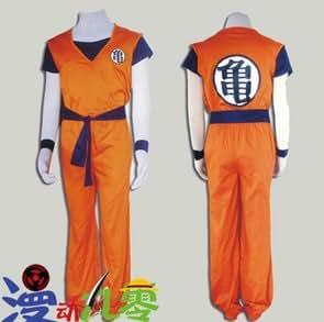 Dragon Ball Goku Cosplay Costume Anime Custom Any Size Tailor Made