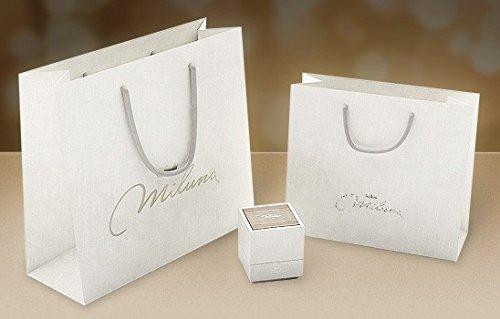 Miluna Bracelet de en or blanc 18 ct motif garçonnet serti de perles PBR134