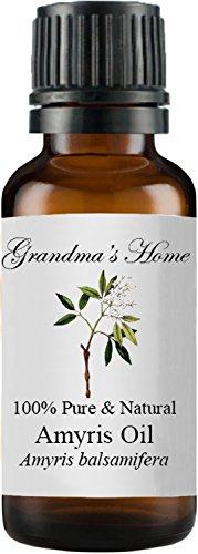Amyris Oil - Grandma's Home Essential Oils - 100% Pure Therapeutic Grade (Amyris, 30 mL)