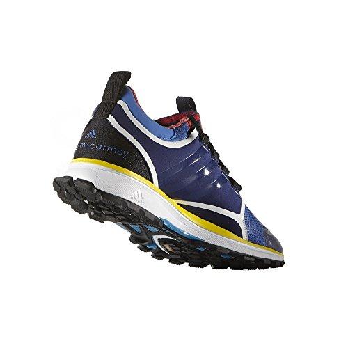 adidas Adizero XT - B25146 - Farbe: Schwarz-Blau-Dunkelblau - Größe: 36.6