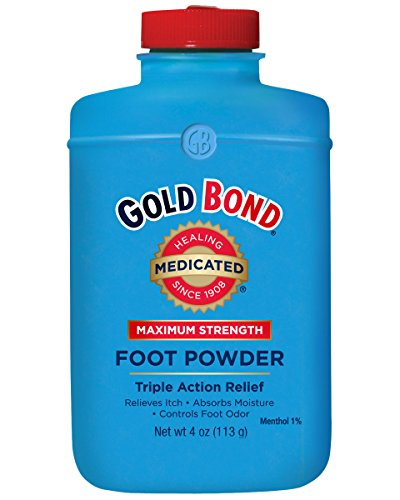 Foot Powder Gold Bond (Gold Bond Maximum Strength Foot Powder, 4 Ounce)