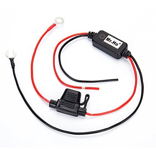 Mr.Ho 13V Auto Car LED DRL On/Off Car Daytime Running Light Controller Automatic LED Lamp Switch for Auto Car Accessories(Black)