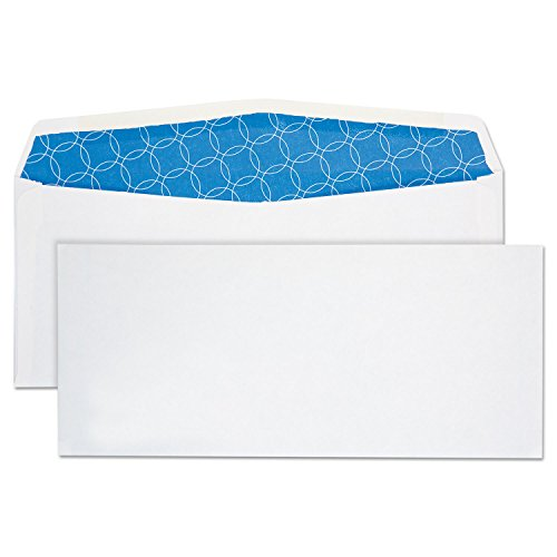 Quality Park 90019 Envelopes, No 10, 4-1/8-Inch x9-1/2-Inch, Regular, 500/BX, White