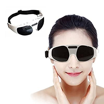 Healthny Care Electric Forehead Relaxation Mask Migraine DC Electric Forehead Eye Fatigue Stress Tension Massager