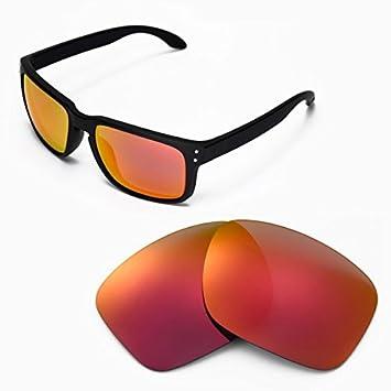sunglasses restorer Sure Basic Lentes de Recambio Polarizadas Fire Iridium para Oakley Holbrook