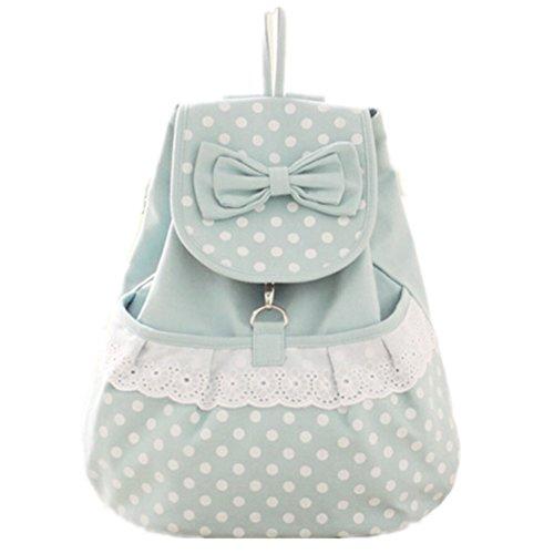 TOMATO-smile - Bolso mochila  para mujer azul negro azul claro