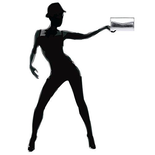 Pochette Argenté Fashion femme pour CASPAR aS6wqvH