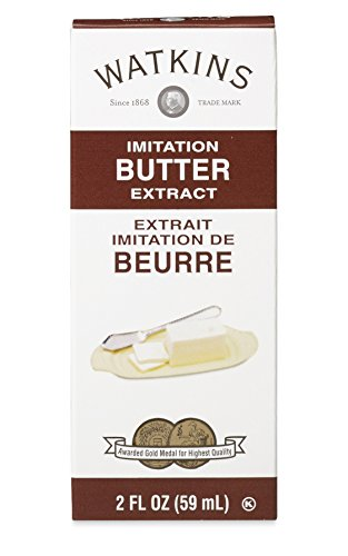 Extract Butter (Watkins All Natural Extract, Imitation Butter, 2 Ounce (Pack of 6) (Packaging may vary))