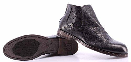 Chaussures Femme Bottines MOMA 34605-2A Arizona Nero Cuir Noir Vintage Nouveau