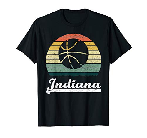 Player Indiana - Vintage Retro Indiana Basketball Player Men Women Gift T-Shirt