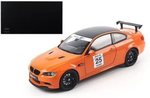 Bmw M3 Gts Carro Esporte 1:24 Modelo De Carro Diecast veículo Brinquedo Coleção Presente Laranja