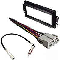 CAR RADIO STEREO RADIO KIT DASH INSTALLATION MOUNTING WIRING HARNESS RADIO ANTENNA PONTIAC 1992 - 2003