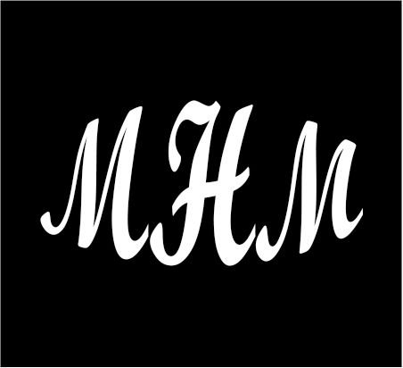 3-white-monogram-3-letters-mhm-initials-bold-font-script-style-vinyl-decal-great-size-for-cups-or-mu