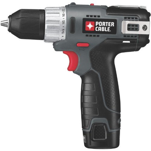 PORTER-CABLE PCL120DDC-2 12-Volt Max Compact Lithium-Ion 3/8-Inch Drill/Driver