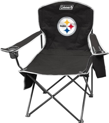 Pittsburgh Steelers Coleman XL Cooler Quad Chair from Hall of Fame Memorabilia