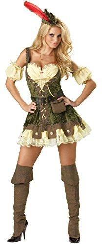 Racy Robin Hood Adult Costume - X-Small (Adult Racy Robin Hood)