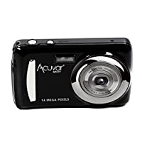 "Acuvar 14MP Megapixel Compact Digital Camera and Video with 2.4"" Screen with Easy Editing Software CD by Acuvar"