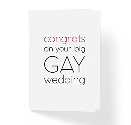 lgbt pride love is love wedding card congratulations on your big gay wedding 5