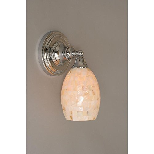 11-in-Wall-Sconce-w-Seashell-Glass-Shade