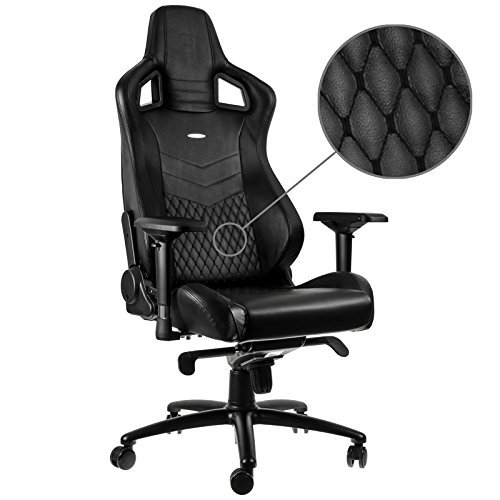 Noblechairs Nbl-Rl-Bla-001 Epic Real Leather Gaming Fauteuil
