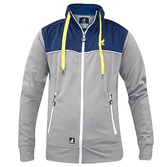 Men Kangol Matcha Jacket Silver Grey L