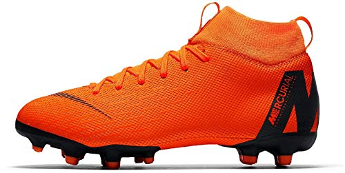 nike / jr versatile superfly 6 academy gs mg (orange / nike noir) (5.5y) 8028bb