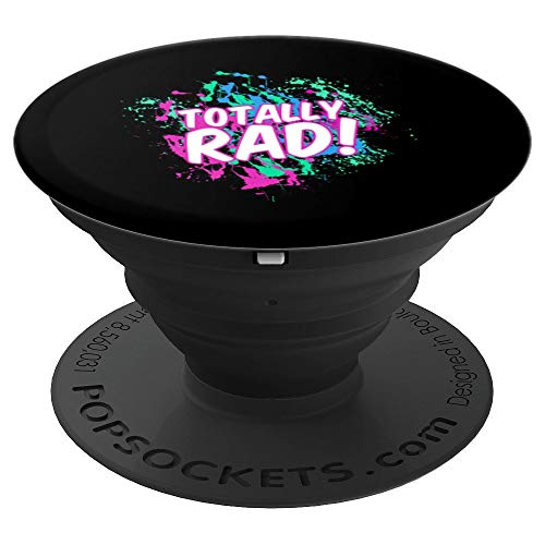 (Totally Rad 80's Paint Splash Art | Cute Creatives Gift - PopSockets Grip and Stand for Phones and)