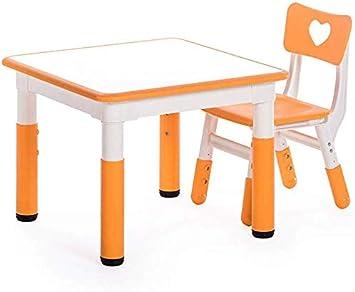 CTC Juego de mesa y silla para niños/niños, jardín de infantes se ...