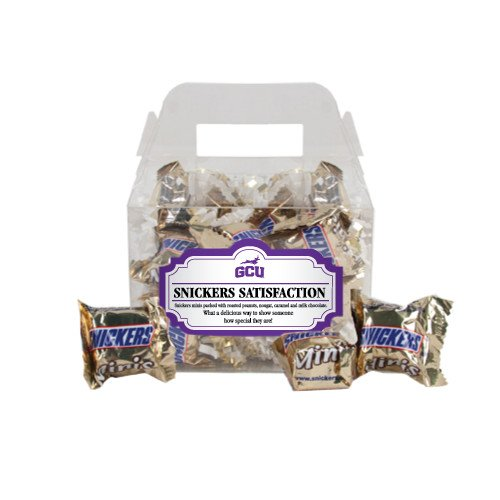 Grand Canyon Snickers Satisfaction Gable Box 'Official Logo'