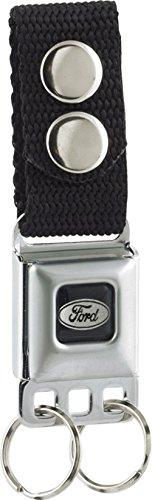 Ford Motors - Ford Logo Emblem - Metal Ring Key Chain Keychain