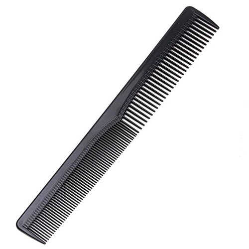 ACE-Men-Women-Salon-Black-Plastic-Cutting-Hair-Tooth-Comb-Barber-Tool-Hairdressing-Hair-Brush