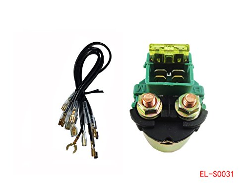 (Starter Relay Solenoid for Honda V30 V45 V65 Magna Sabre 700 VF500C VF700S VF700C VF750C VF750S VF1100 VF1100S VF1100C)