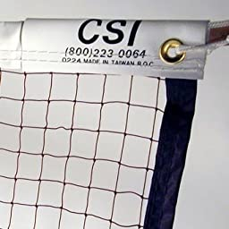 CSI Cannon Sports 20-ft Badminton Tournament Net with Nylon Rope Cable