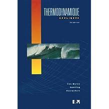 Thermodynamique appliquee (ne) (van wylen, sonntag)