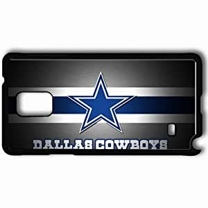 Personalized Samsung Note 4 Cell phone Case/Cover Skin 1038 dallas cowboys 0 Black