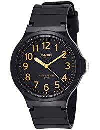 Relógio Masculino Casio Analógico MW-240-1B2VDF - Preto