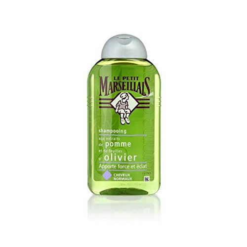 Le Petit Marseillais French Shampoo - Apple Extract and Olive Leaf - Normal Hair 8.4 oz