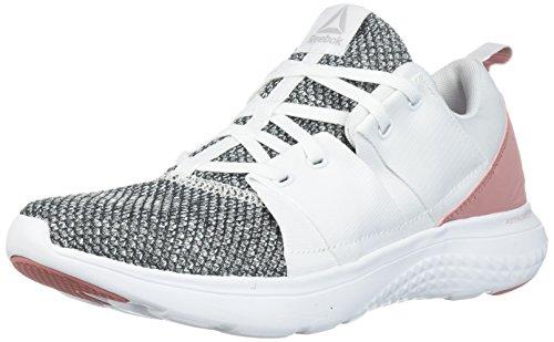 Reebok Women's RBK Astroride ATHLUX Run Sneaker, White/Sandy