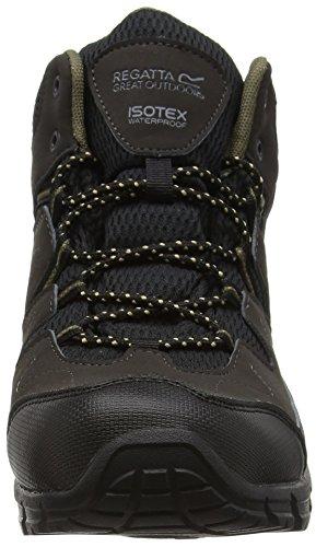 Regatta Chaussures Randonnée Holcombe Uk Marron Noir Homme De peat Mid antique Hautes 7 rqwrEC