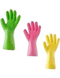 Buy 1 Pair Peeling Potato Gloves Peel Vegetable Fish Scale Gloves Kitchen Tools shopping wholesale