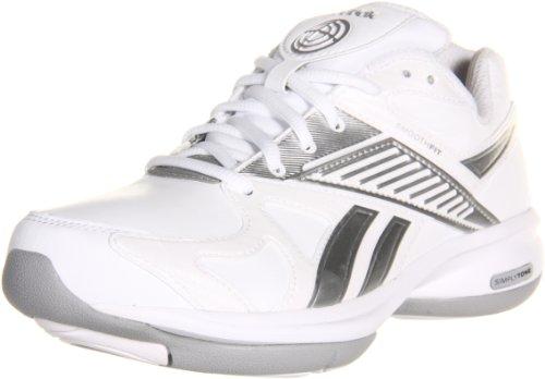 Reebok Women's Simplytone Fitness Shoe,White/White/Silver...