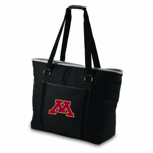 (NCAA Minnesota Golden Gophers Tahoe Extra Large Insulated Cooler Tote, Black )